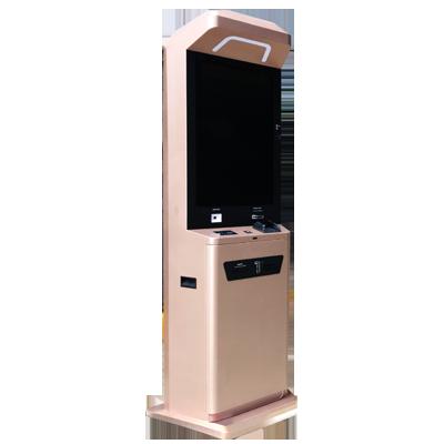 Cash Acceptor & Card Dispenser Kiosk