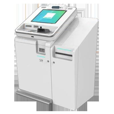 Instant card printing kiosk
